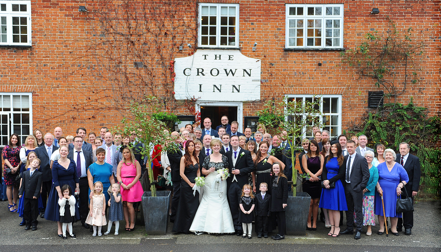 Westleton Crown Wedding (9)