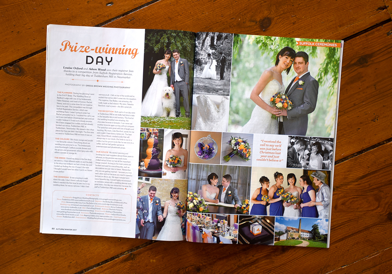 recommended wedding photographer suffolk