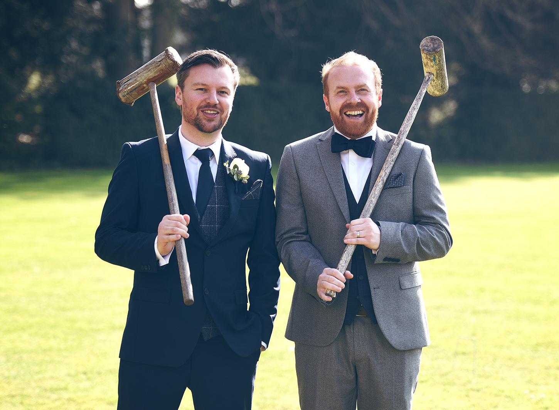 croquet wedding games