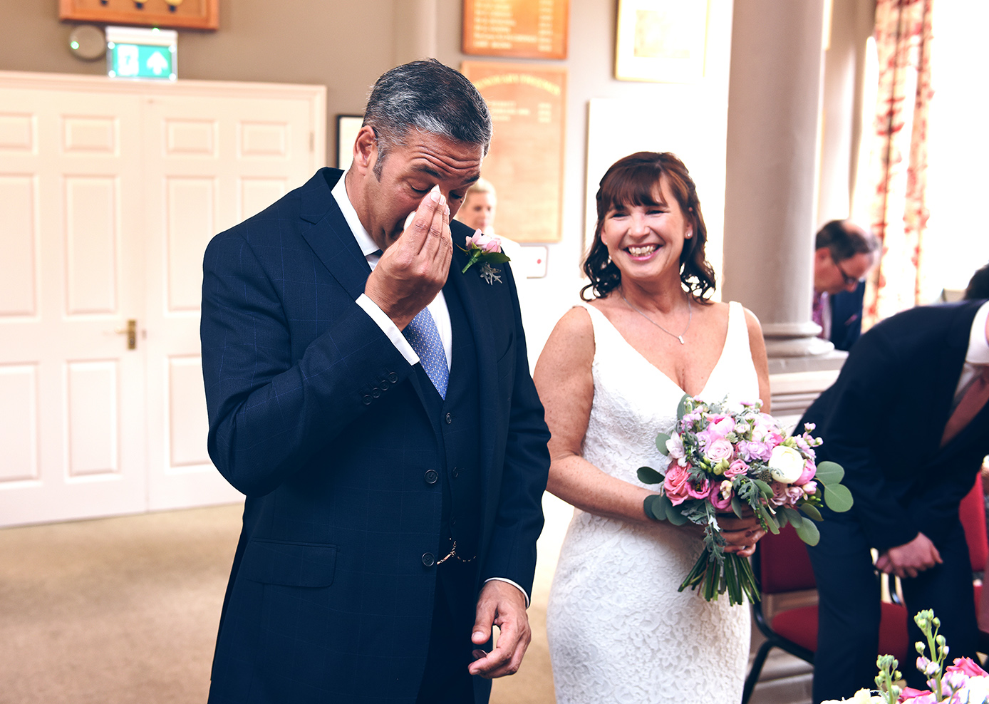father bride wedding