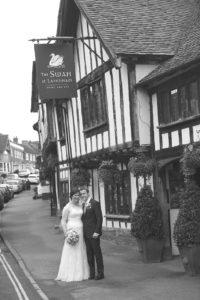 swan lavenham wedding