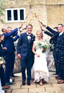 wedding confetti essex