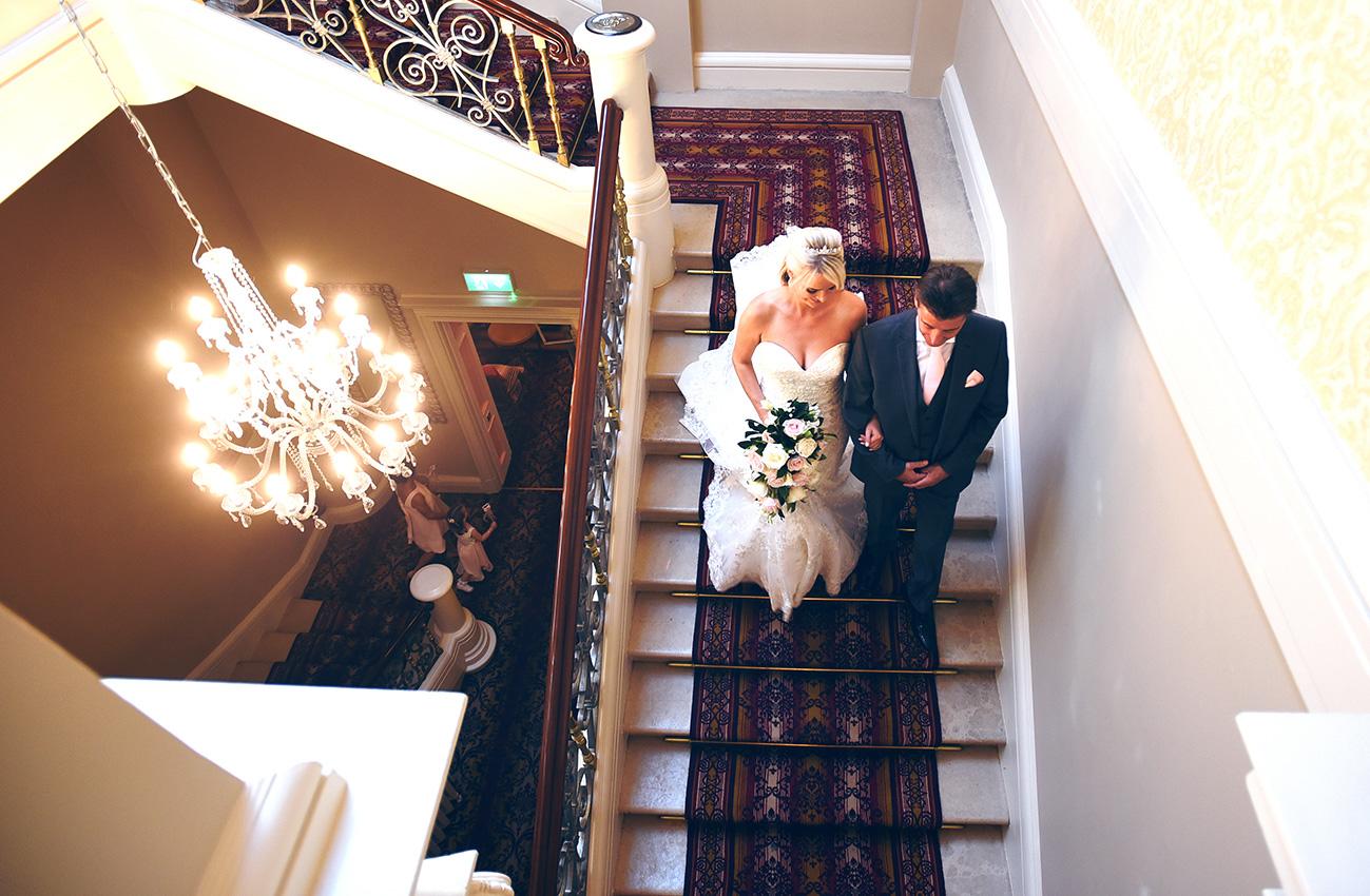 wedding photographer down hall essex